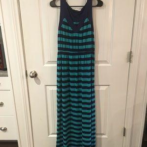 🌟🌟 Striped Maxi Dress